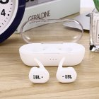High Quality Wireless Earphone Portable 5.0 Bluetooth Headset Invisible Earbud for All Smart Phone white