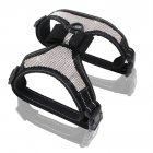 High Reflective Shiny Crystal Pet Pet Harness wirt Cute Bowknot for Outdoor Walking black_XL