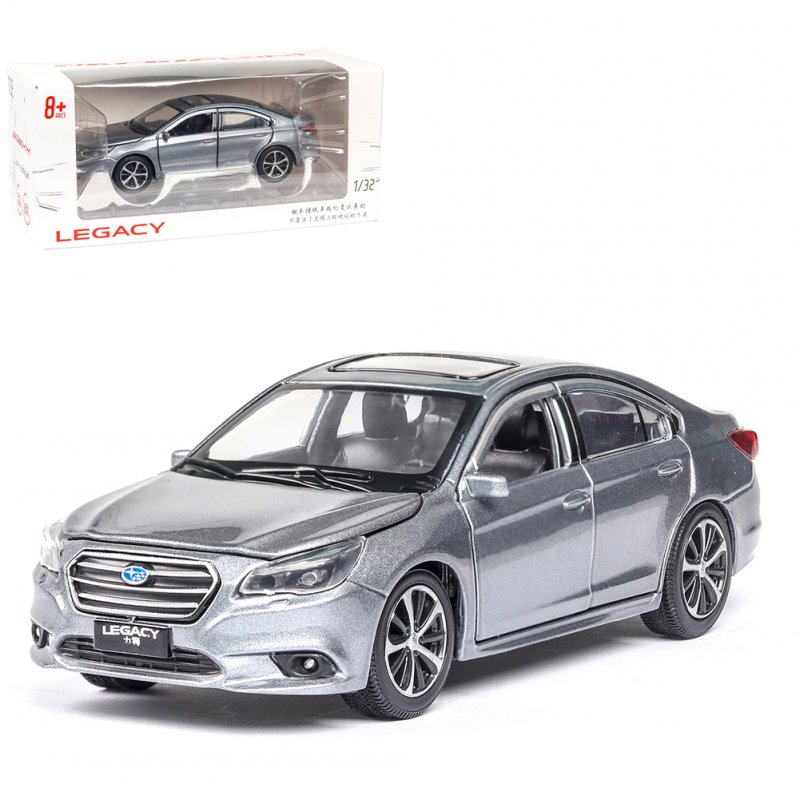 High Simitation 1:32 Children Alloy Metal Mini Car Model Kids Pull-back Car Toy Christmas Birthday Gifts  silver grey
