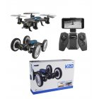 High Speed Flying Car Toy K20W FPV Version WiFi Real-time Transmission Video Recording Photographing Toy 30w