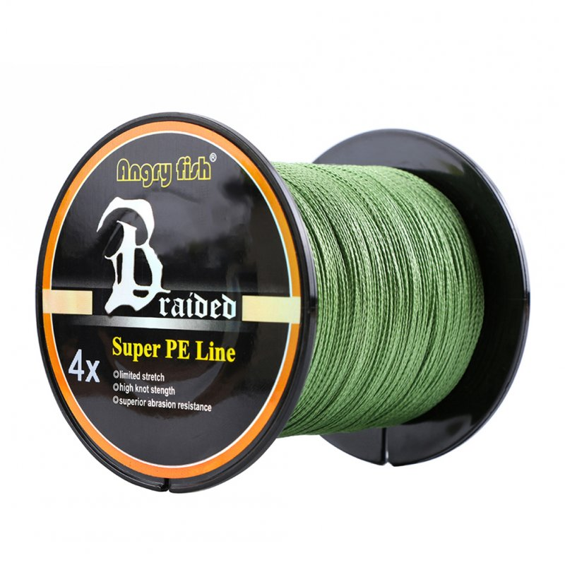 High Strength 300m/328yds 4 Braid Single Color Fishing Line
