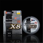 High Strength 8 Braid 100M 0 6  10  PE High Tension Anti bite Fishing LineKEM3
