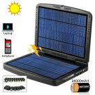High capacity Solar Battery Charger for laptops and portable electronics   Provided with two large panels and a molded clamshell casing  this is the ultimate ro