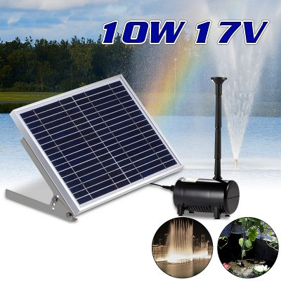 High-power Solar Fountain for Garden Villa Decoration 17V 10W