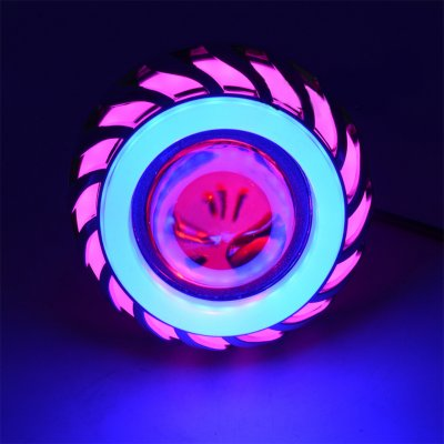 12V LED Built-in Headlight Pink Blue