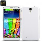 Hiro W9205  6 3 Inch Smartphone has a 1280x720 HD Screen  Android 4 3 operating system  MTK6589T Quad Core CPU