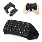 HobbyLane for PS4 Mini Wireless Bluetooth Keyboard for PS4 Handle Keyboard for PlayStation 4 for PS4 Game Controller d20 black