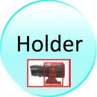Holder for CVNG DV30 Waterproof Sports Action Camera