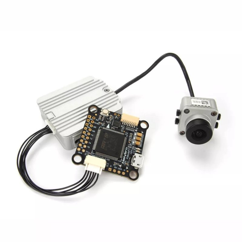Holybro Kakute F7 HDV Flight Controller STM32F745 with Barometer Compatible for DJI FPV 30.5x30.5mm 8g as shown