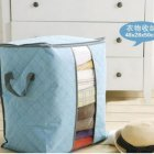 Home Heighten Laundry Storage Bag for Blanket Clothes Quilt Bedding Duvet Blue #yphc-81791#