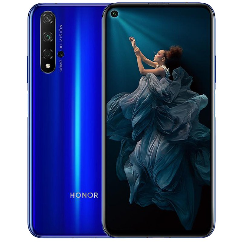 Honor 20 Phablet 5 Cameras Blue_ 8+256GB
