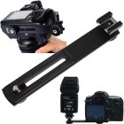 Horizontal Bracket Camera Flash Grip Rail for DSLR DC SLR Light Stand Hot-Shoe  Short crossbar