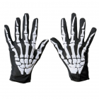 Horror Ghost Claw Gloves 3D Skeleton Foam Gloves for Cosplay Show Costume Party Halloween Masquerade Party