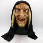 Horror Witch Mask Halloween Headgear for Theme Party Decor Costume Prop  Witch