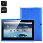 Horus 16GB 7 inch android 4 4 Dual core tablet with 512MB RAM  16GB of onboard memory and OTG  WI FI and Bluetooth Connectivity
