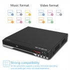Household HD Mini HDMI DVD Player Protable EVD CD VCD Player DVD Machine black_European regulations