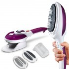 Portable hanging machine steam iron
