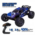 Hs10422 1/8 Rc Car 2.4g 7.4v 1500mah Full Proportional Control Big Foot High Speed 45km/h Rc  Models 2 battery