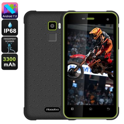 Huadoo HG11 Rugged Phone (Green)