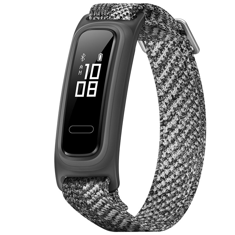 Original HUAWEI Band 4E Smart Watch Running Posture Monitor Bluetooth 4.2 50m Waterproof 77mAh Battery Fitness Bracelet Coconut gray