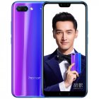 Huawei Honor 10 6 64GB Smartphone 5 84 inch Android 8 1 Octa Core Mobile Phone Face ID NFC 3400mAh Battery Chinese OTA Blue