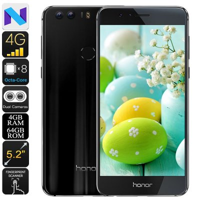 Huawei Honor 8 Android Phone (Black)