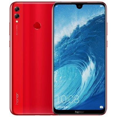 Huawei Honor 8X Max 7 12 inch Smartphone Android 8 1 Octa Core 16MP Camera  Screen Fingerprint ID 4900mAh Battery Red