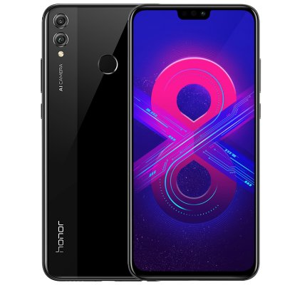 Huawei Honor 8X 4+64GB phone US Version Black