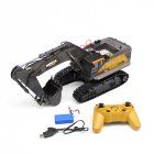 HuiNa 1:14 1592 RC Alloy Excavator 22CH Big RC Trucks Simulation Excavator Remote Control Vehicle Toy for Boys default