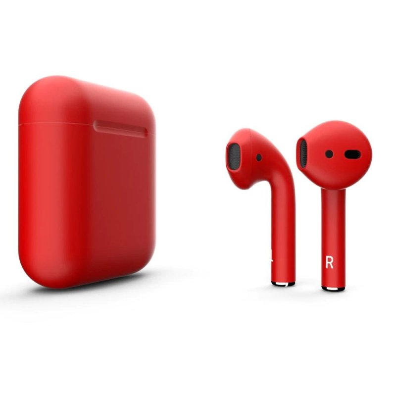 I12 Colour TWS Bluetooth 5.0 Earphone Red