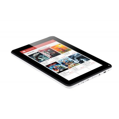 Android tablet with full size sd card slot
