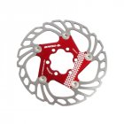 IIIPRO Mountian Road Bike Cooling Disc Heat dissipation Brake Rotor Down hill Floating bicycle Brake Floating disc red 1 pc