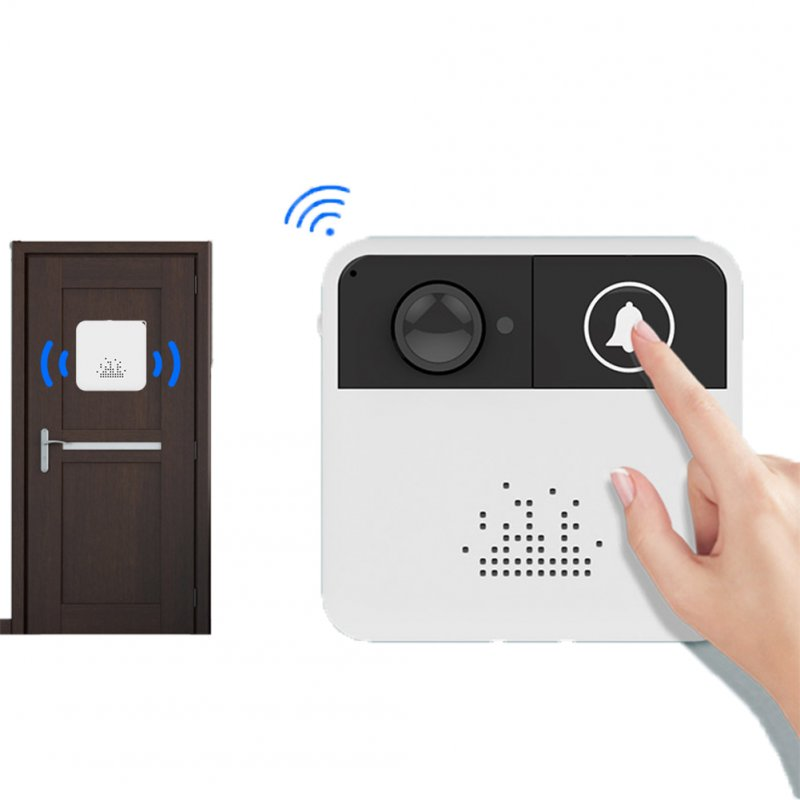 IP Video Intercom WI-FI Video Door Bell Camera Apartments Alarm Wireless Security Camera Doorbell + ring