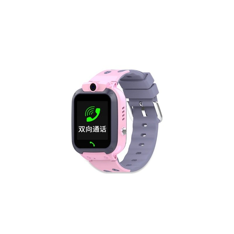 IP67 Waterproof Children Smart Watch Two-way Call Emergency Help Accurate Positioning English Version Children's Watch Pink