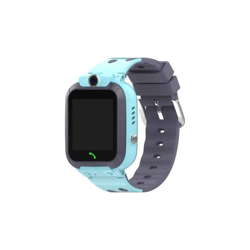 IP67 Waterproof Children Smart Watch Two-way Call Emergency Help Accurate Positioning English Version Children's Watch blue