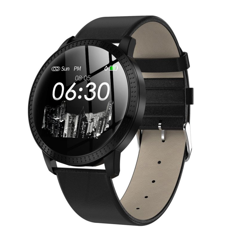 IP67 Waterproof Smart Watch  Black