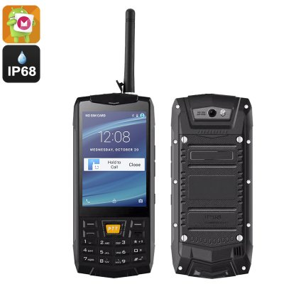 Rugged Android 6.0 Smartphone (Black)