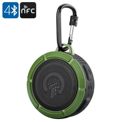 IWO F1Mini IP67 Waterproof Speaker (Green)