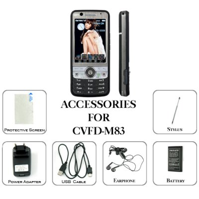 Accessories Pack for M83 - Direktor Cellphone