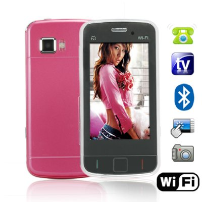 WiFi Quadband Dual-SIM Touchscreen Cellphone