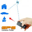 If you have ever had trouble finding your car after a big football game  you will love this gadget  Using the GPS location finder to find your way back is easy