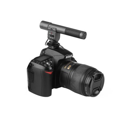 Stereo Microphone for DSLR DV Camera