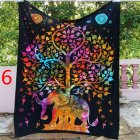 Indian Decor Mandala Tapestry Wall Hanging Hippie Throw Bohemian Dorm Bedspread Table Cloth Curtain 150   130cmBMYJ