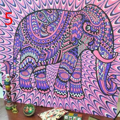 42fb55bb40c1 Indian Decor Mandala Tapestry Wall Hanging Hippie Throw Bohemian Dorm  Bedspread Table Cloth Curtain 150 * 130cm0DAU