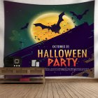 Indian Tapestry Wall Hangings Fun Halloween Pumpkins Home Decor Tapestries 8_150*130