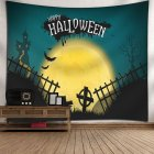 Indian Tapestry Wall Hangings Fun Halloween Pumpkins Home Decor Tapestries 13_150*130