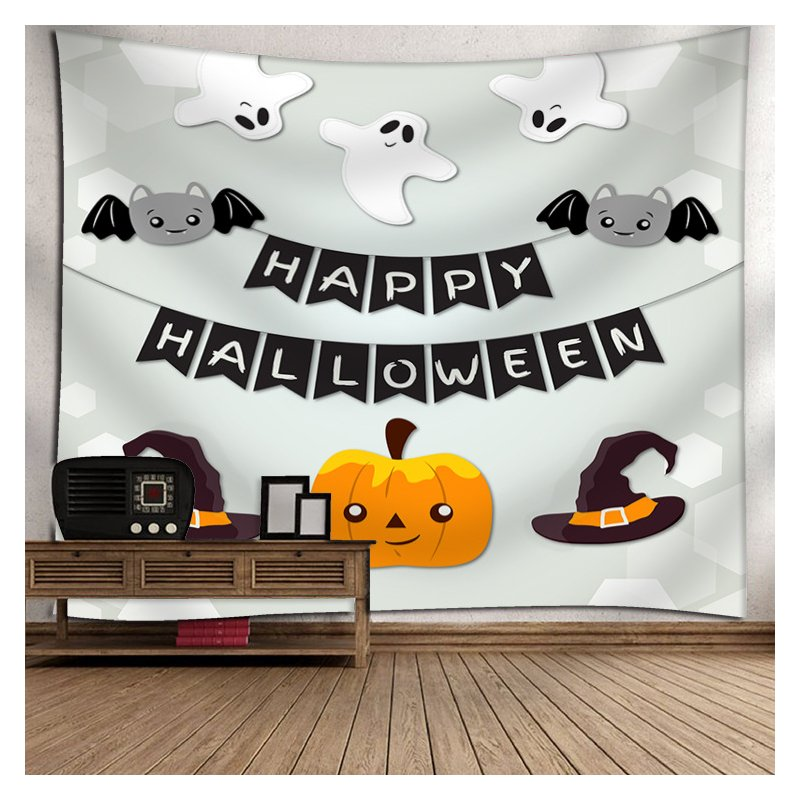 Indian Tapestry Wall Hangings Fun Halloween Pumpkins Home Decor Tapestries 19_150*130