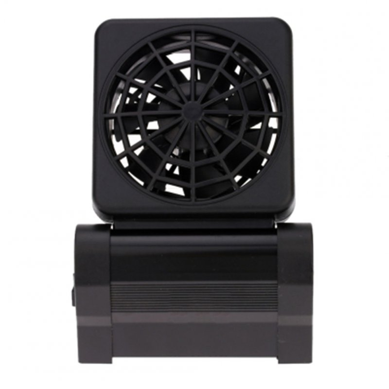 Indoor Home Plastic Black Aquarium Coral Reef Fish Tank Cooling Strong Fans  Single head European regulations