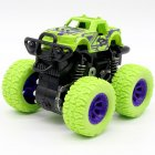 Inertia Shockproof Four-wheel Drive SUV Baby Child Boy Simulation Vehicle Model Car Anti Crash Toy green