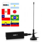 Instant digital TV on your PC desktop computer  laptop  notebook  or netbook  The ISDB T USB Dongle is a great digital TV receiver so you can watch and record f